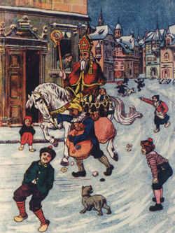 Nostalgische Sinterklaasplaatjes